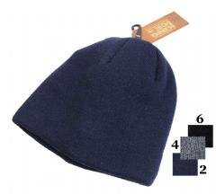 Knitted beanie hat HT457450